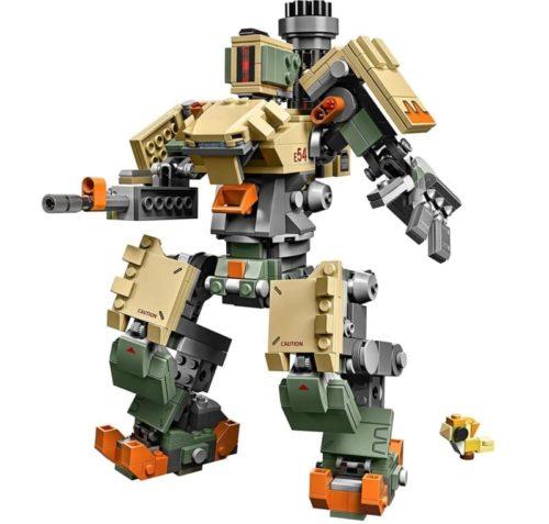 LEGO Overwatch Robot Action Toy Figure