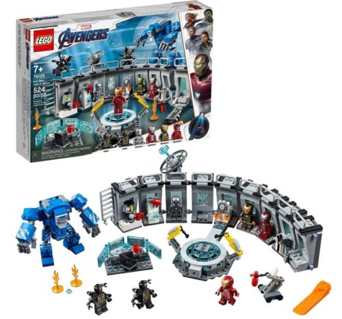 LEGO Robot Toy Marvel Avengers Iron Man Hall for Kids