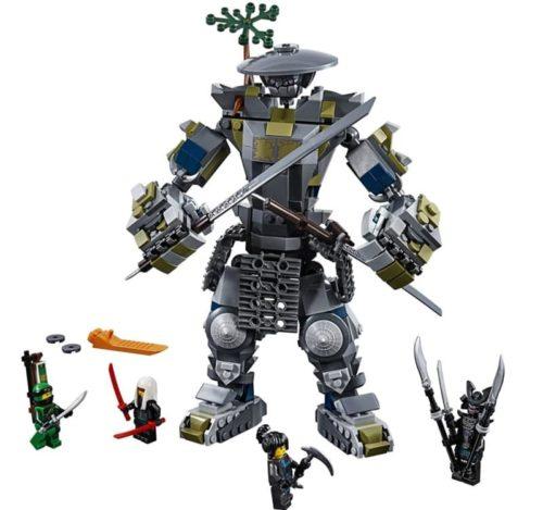 LEGO Robot Toy Masters of Spinjitzu Building Kit