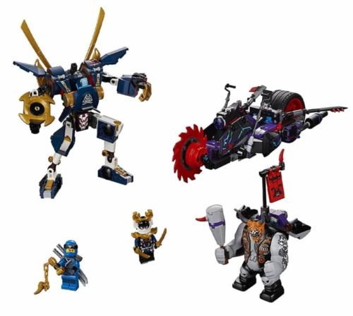 LEGO Robot Toy NINJAGO Killow vs. Samurai for Kids