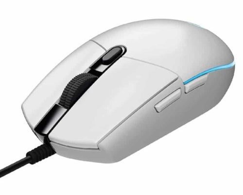 Logitech LIGHTSYNC Wired White Gaming Mouse