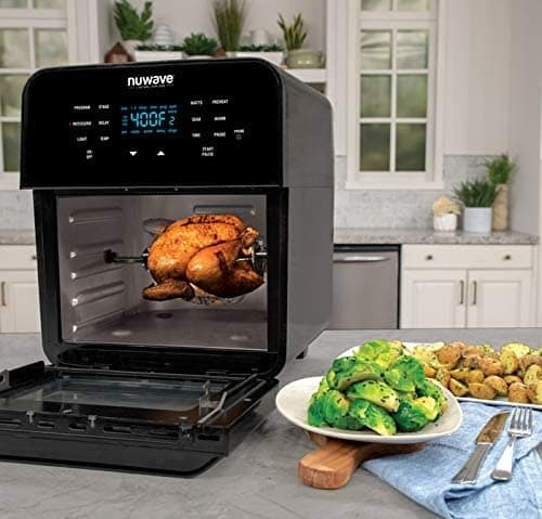 NUWAVE BRIO Large Electric Air Fryer Oven