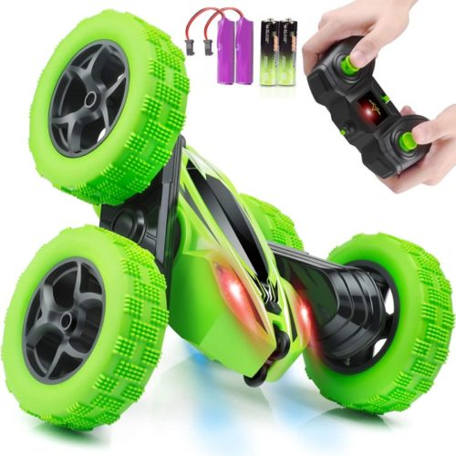 ORRENTE RC Remote Control Cars 4WD Double-Sided with Headlights