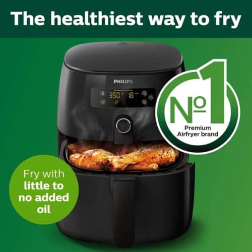 Philips Premium Fat Removal Air Fryer With Recipe Cook Book