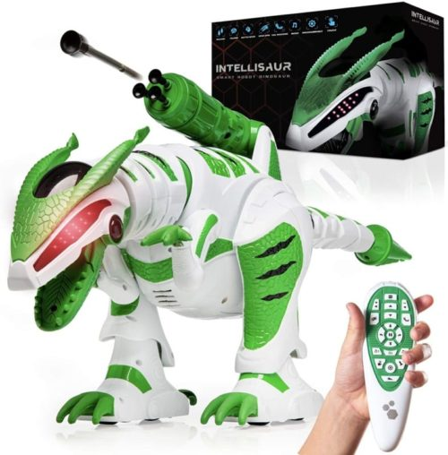Power Your Fun Intellisaur Dinosaur Smart Robot Toy for Kids with Touch Sensors