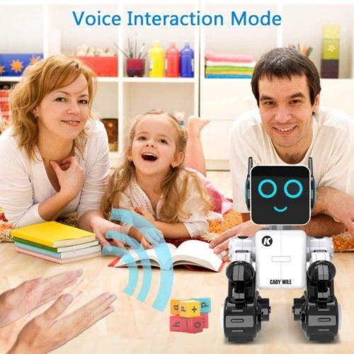 Pranite Intelligent Smart Robot Toy RC Programming