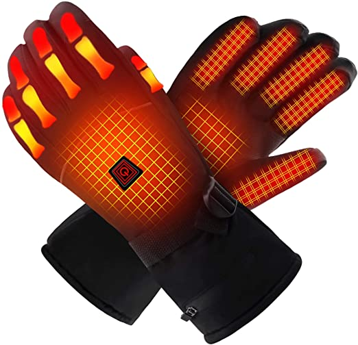 QILOVE Electric Heated Gloves for Warm Gifts