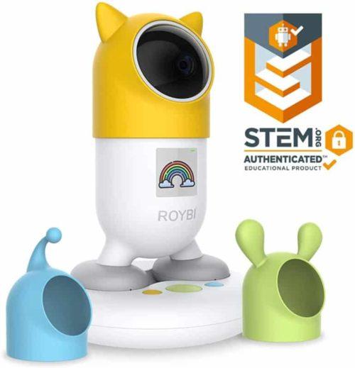 ROYBI Robot Bilingual AI Smart Educational Companion Smart Robot Toy for Kids Boys and Girls