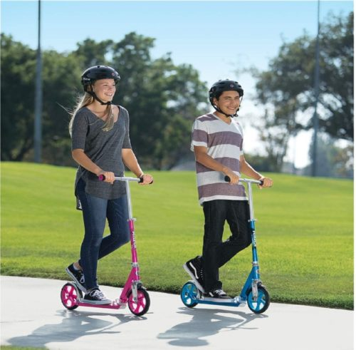 Razor A5 2 Wheel Scooter with Large Wheels for Adults and Kids