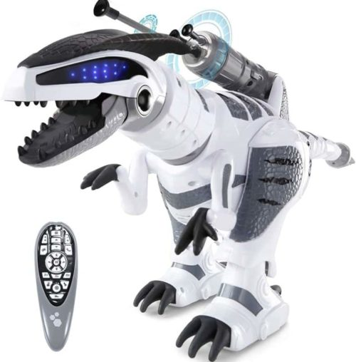 SGILE RC Dinosaur Programmable Smart Robot Toy for Kids