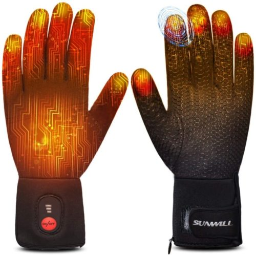Sun Will Rechargeable Electric Heated Glove Liners