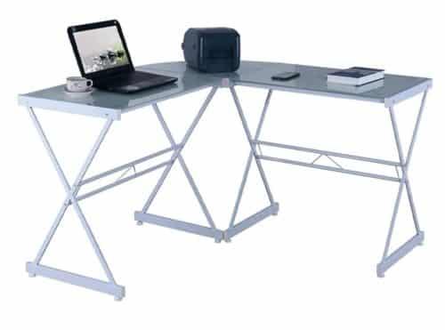 Techni Mobili Glass Computer Desk
