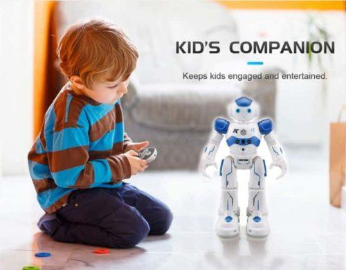 Threeking Smart Robots Toys for Kids Male Voice