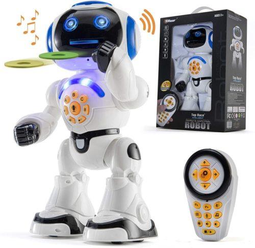 Top Race Smart Robot Toy Walking Talking Dancing Educational for Kids