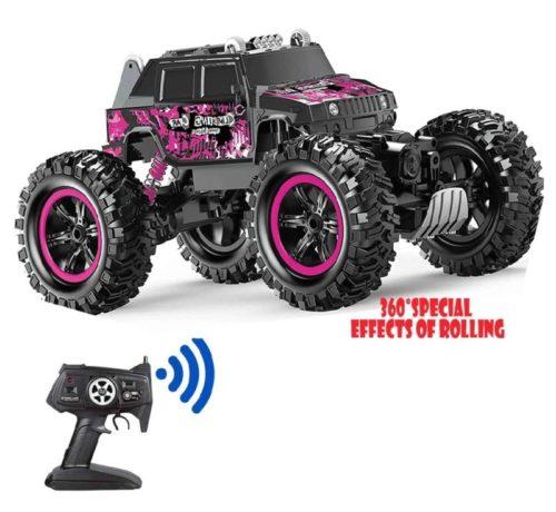 Waterproof Monster Stunt Remote Control Car for Kids