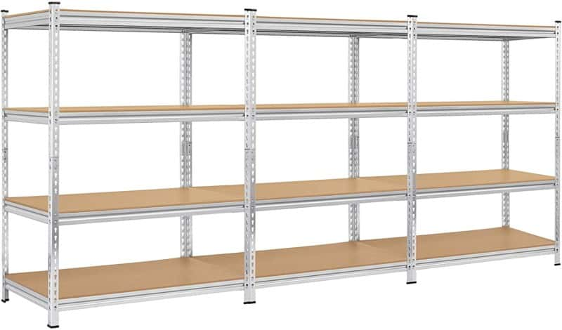 Topeakmart 4 Tier Heavy Duty Shelf