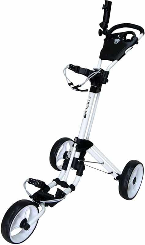 Qwik-Fold Push-Pull Golf Push Cart