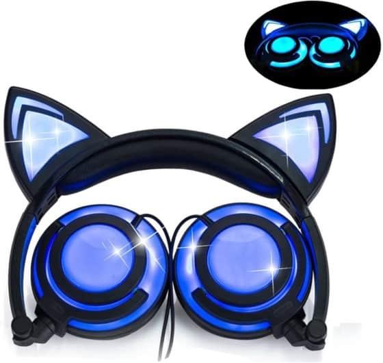 LIMSON LED light Cat Ear Headset