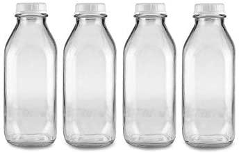 Dairy Shoppe Milk Glass Bottle