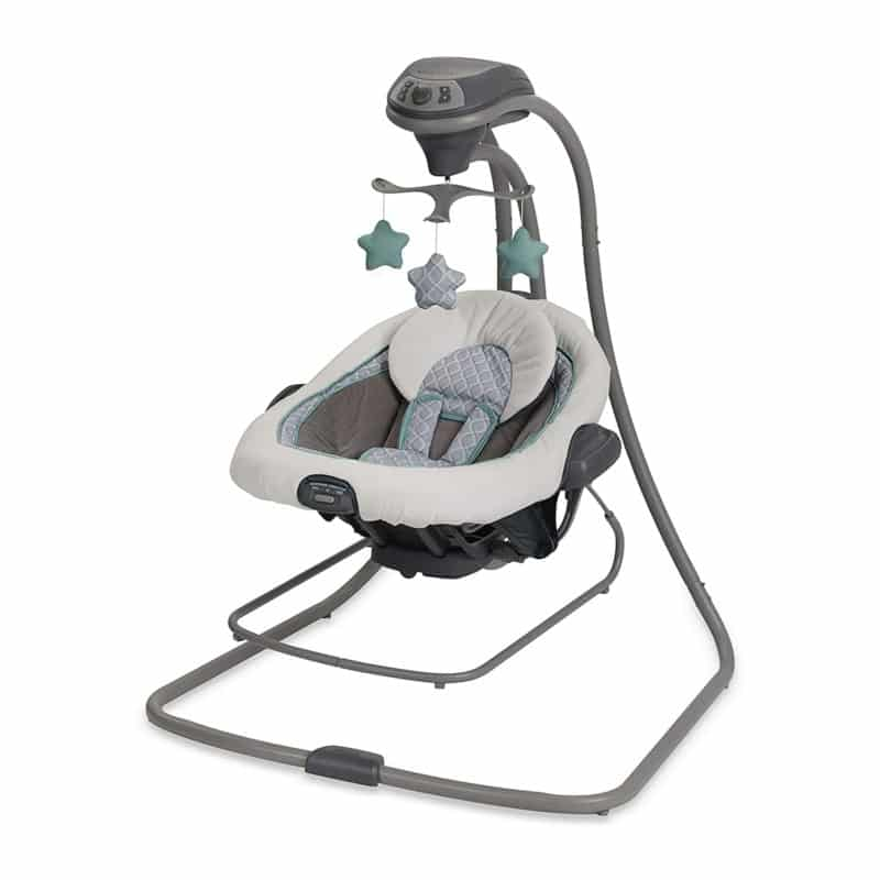 Graco presents DuetConnect LX Swing and Bouncer, Manor