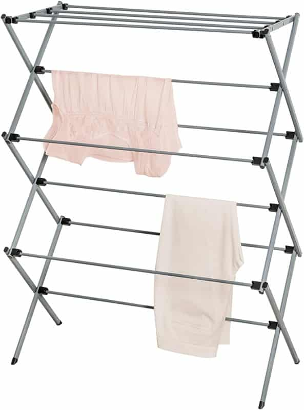 THE HONEY-CAN-DO FOLDABLE METAL DRYING RACK