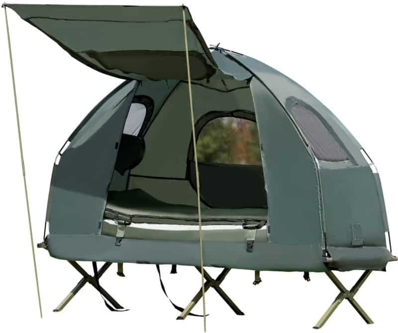 Tangkula 1-Person Tent Cots