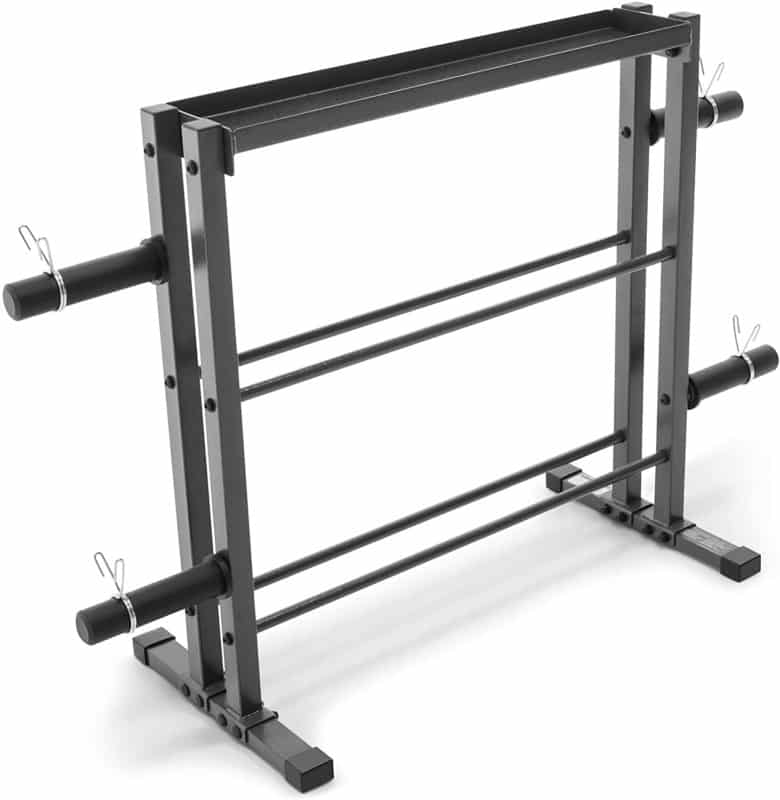 Marcy Combo Weight Plate Rack