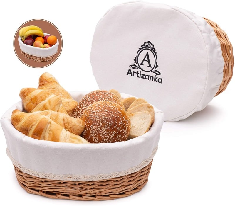 Artizanka Large Bread Basket