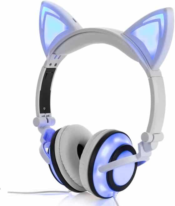Cat Ear Headset with LED light