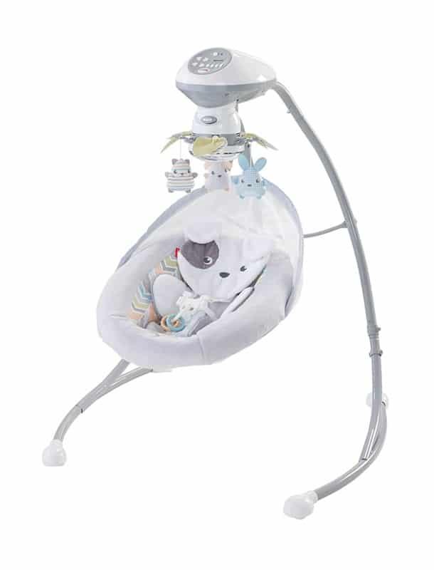 Fisher-Price presents Sweet Snugapuppy Dreams Cradle 'n Swing