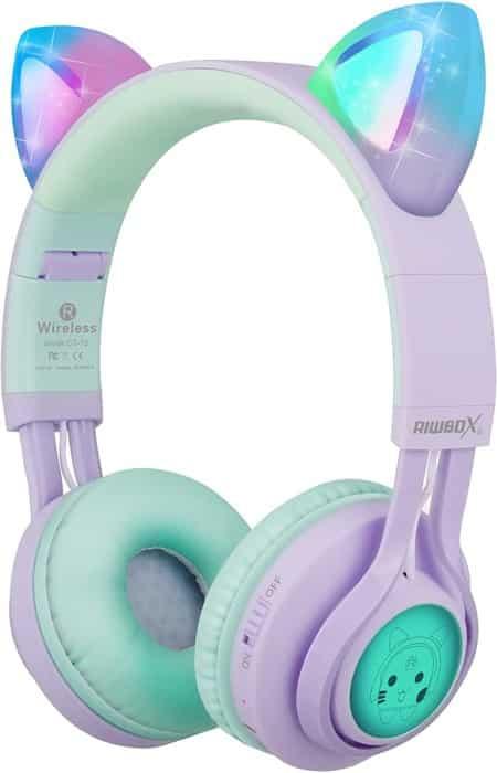 Riwbow CT-7S Cart Ear Wireless Kid's Headphones