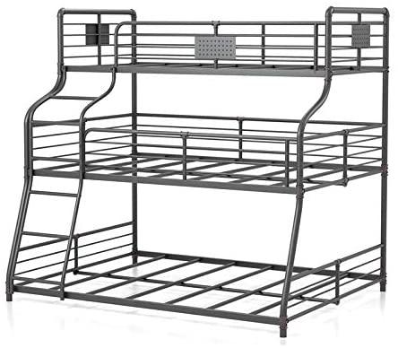 12. Furniture of America Bryon Triple Bunk Bed