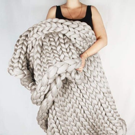 Incarpo Chunky Knit Blanket