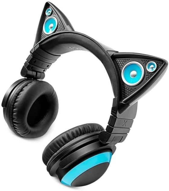 Brookstone Wired Cat, Ear Headphones