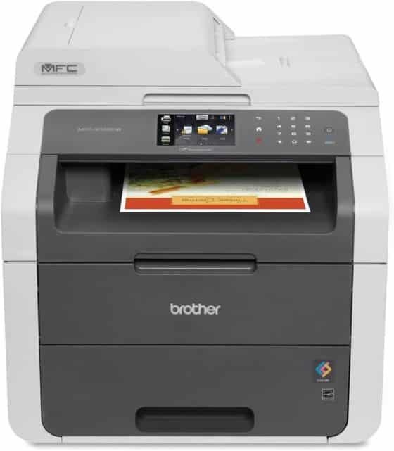 49.6 pounds Brother MFC9130CW Multifunction Printer