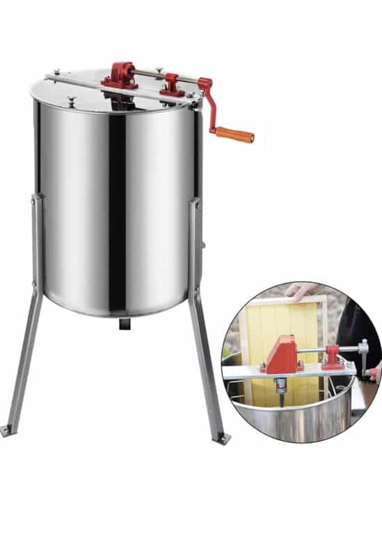 BestEquip Manual & Stainless honey Extractor