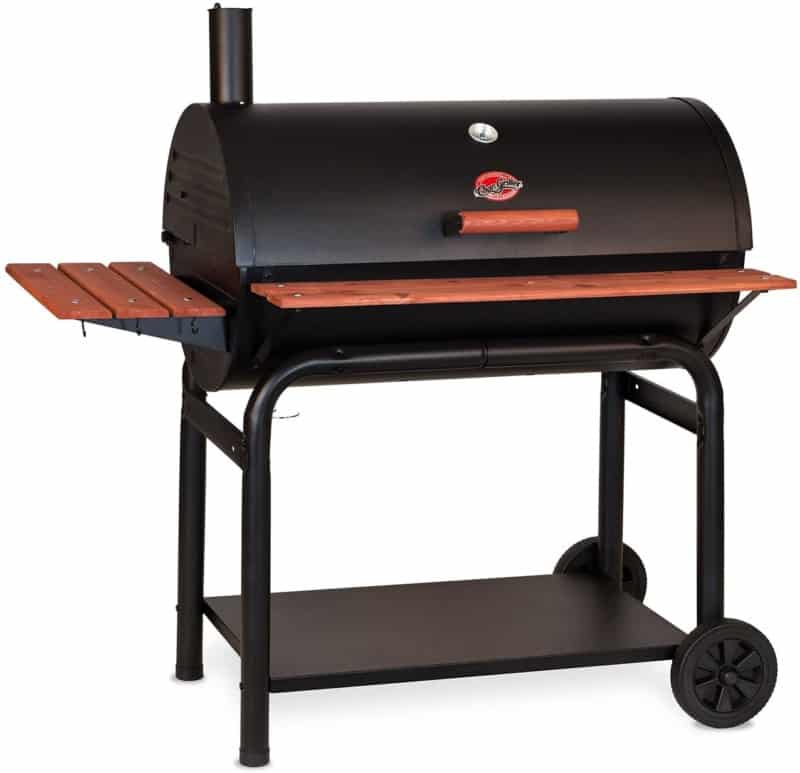 Char-Griller Square Charcoal Smoker