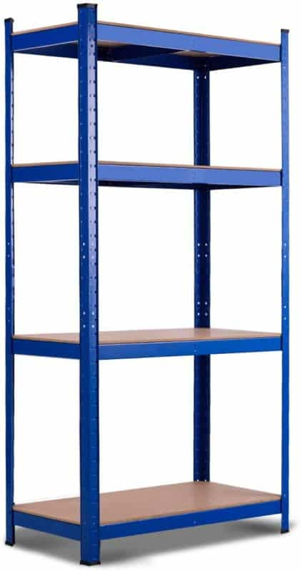 Tangkula Metal Storage Shelf