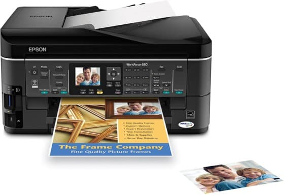 Reliable Epson WorkForce 630 All-in-One Printer Brand