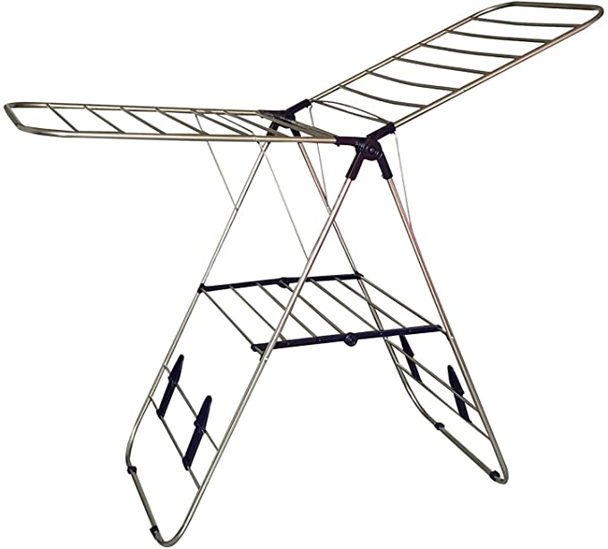 EWEI'S HOMEWARES 145 STAINLESS STEEL CLOTHES DRYING RACK