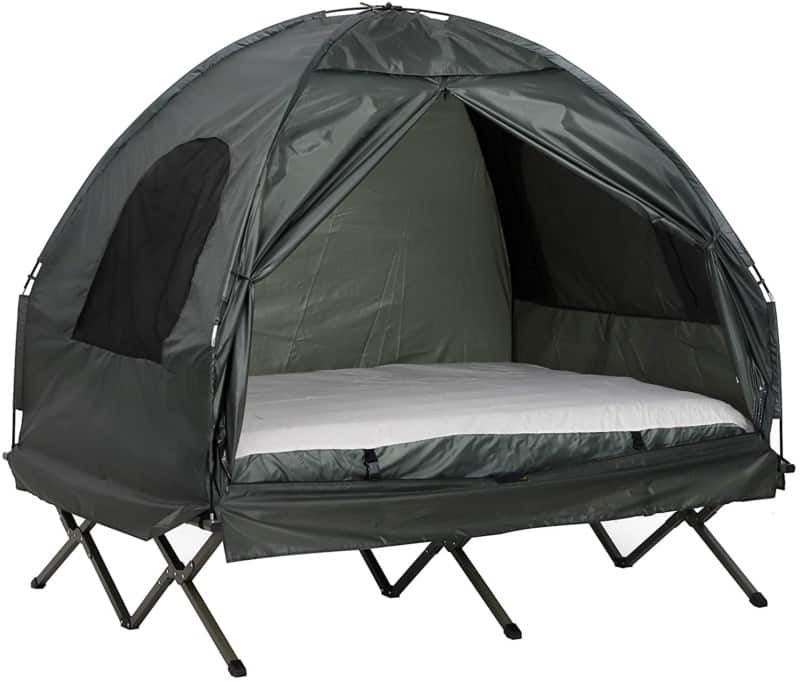 Outsunny Extra Large Compact Tent Cots
