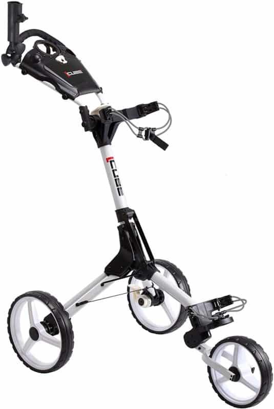 Tangkula Foldable Hand Golf Push Cart