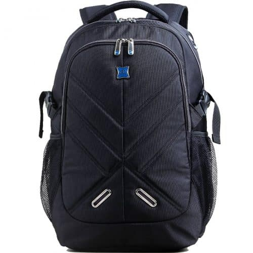 OUTJOY Waterproof Laptop Rucksack for Men/Women with Rain Cover