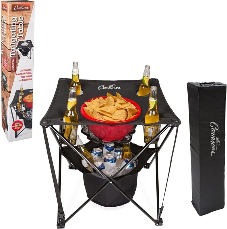 Tailgating cooler table by Camerons