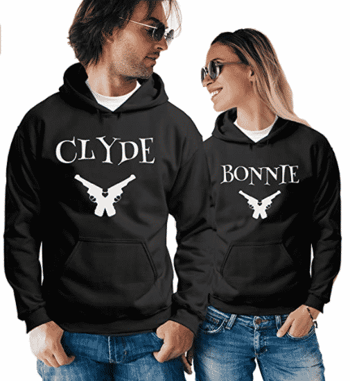 Couple Matching Hoodie Pullover Sweatshirt