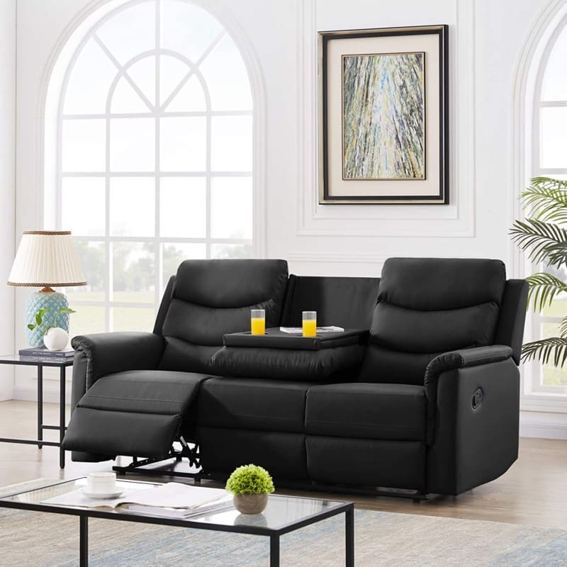 Pannow Double Recliner Theater Seating Furniture Sofa Bed