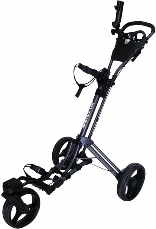 Qwik-Fold Push-Pull Golf Cart
