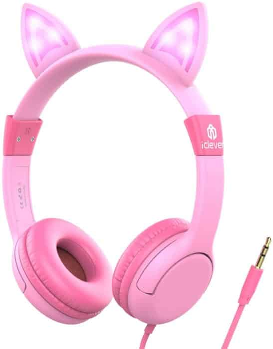 iCleaver Kids Headphones with LED Backlight
