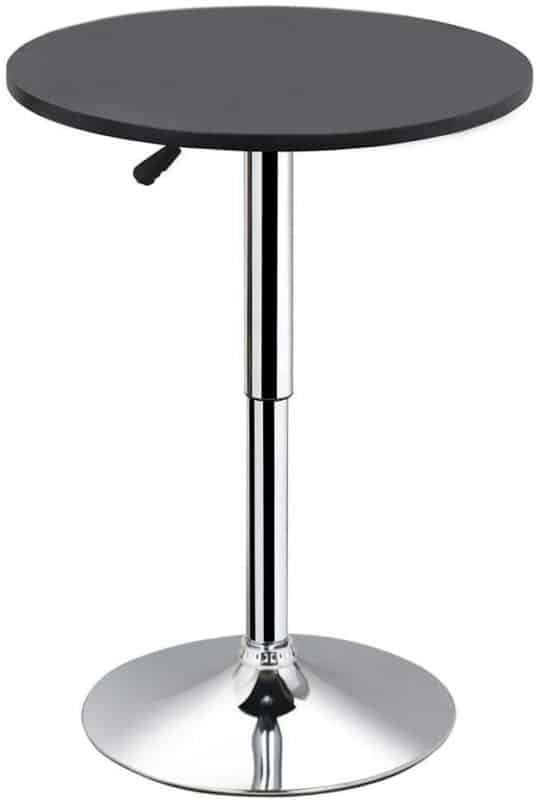 5. YAHEETECH Round Bar Table