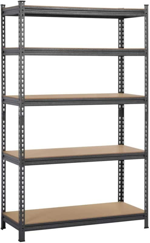 Yaheetech 5 Tier Heavy Duty Garage Shelf